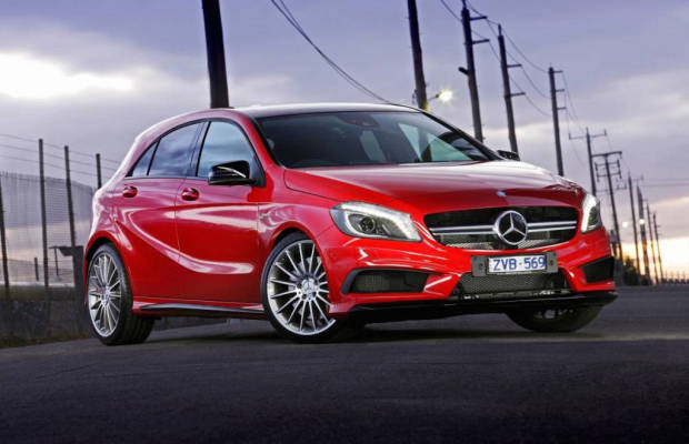 14/Mercedes/A Class/A45 AMG/Press/F34