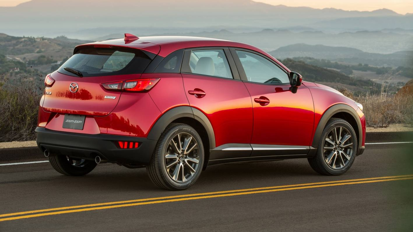 Mazda Launches Cx 3 Mini Suv For 2015 Chasing Cars