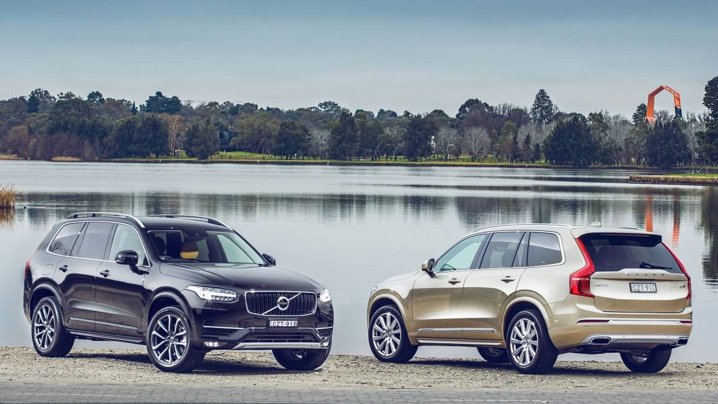 volvo xc90 2016 price and specs for australia chasing cars. Black Bedroom Furniture Sets. Home Design Ideas