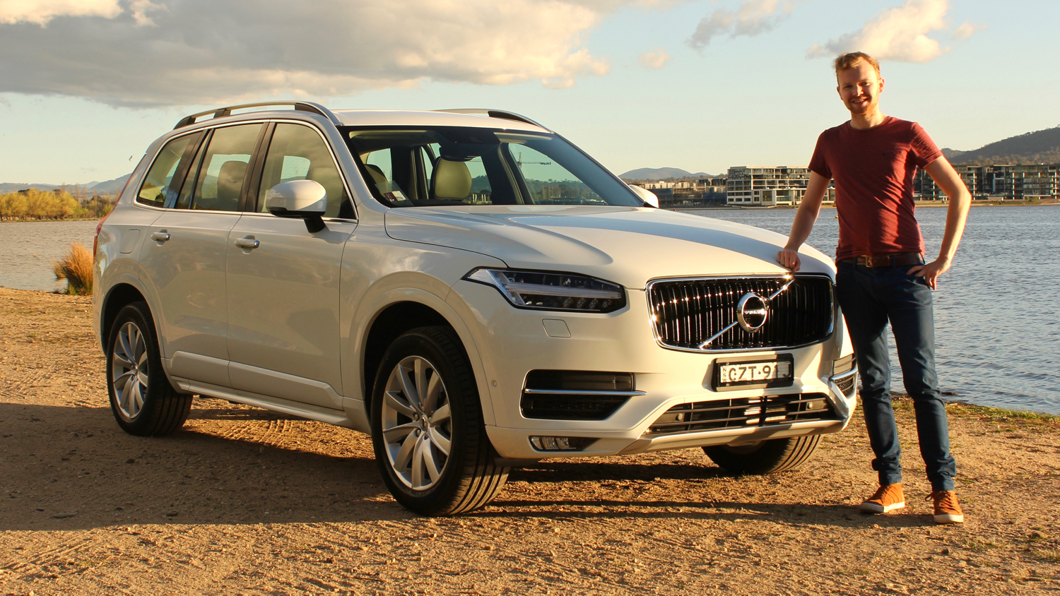 Tom Baker with 2016 Volvo XC90
