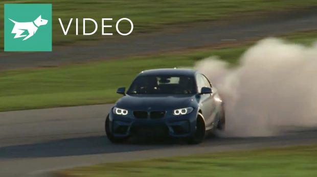 BMW M2 Drifting Video