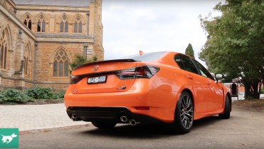 2016 Lexus GS F at Chasing Cars