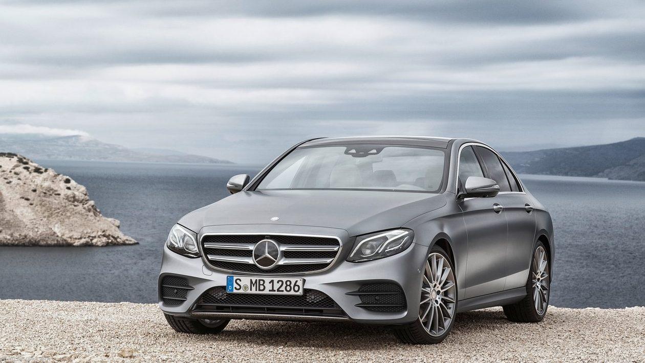 2017 Mercedes-Benz E-Class - Chasing Cars