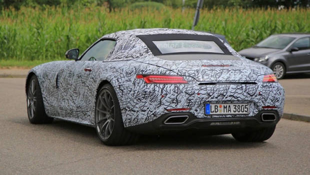 2017 Mercedes-AMG GT C - Chasing Cars