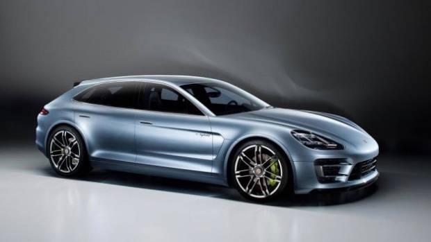 Porsche Panamera Shooting Brake Concept - Chasing Cars