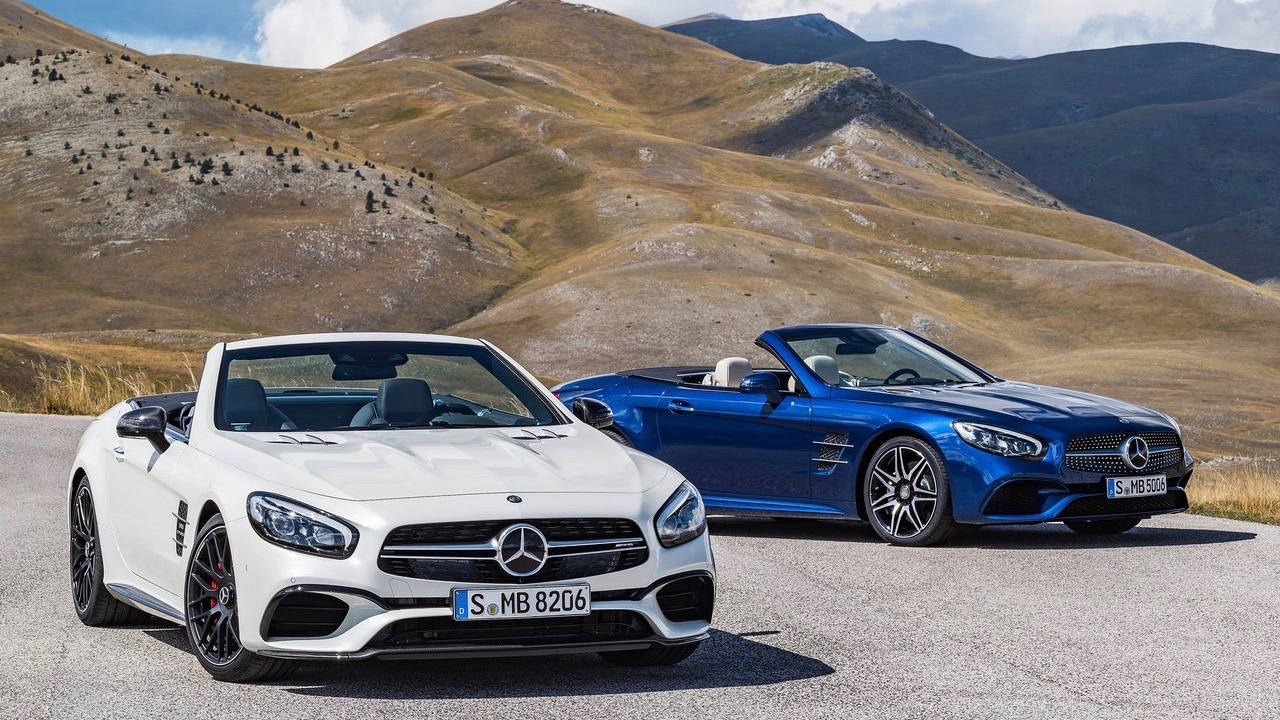 Mercedes Sl Priced From 219k Looks Hotter For 2017