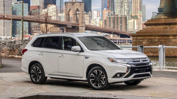 2017 Mitsubishi Outlander PHEV in New York