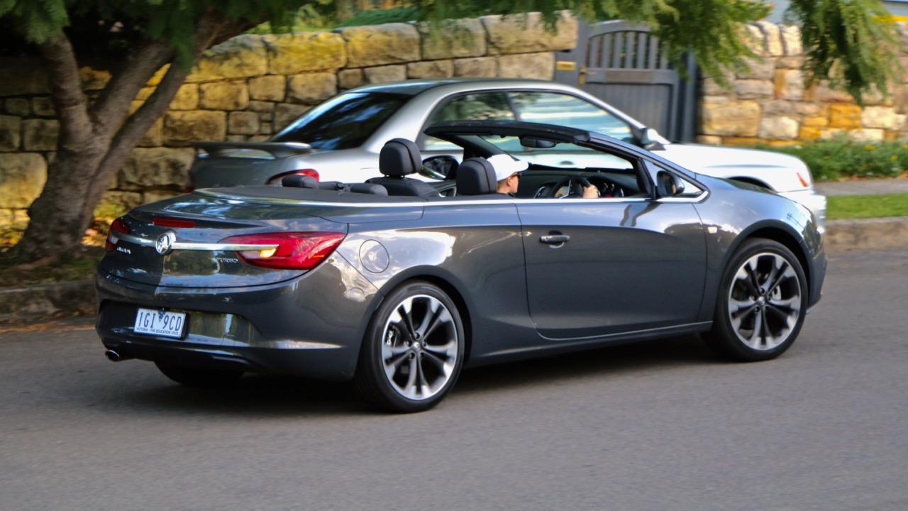 Holden Cascada driving
