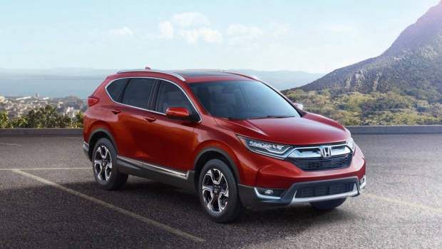 2017 Honda CR-V in red – Chasing Cars