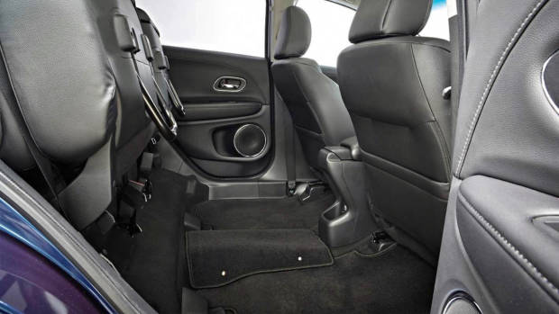 The Magic Seats in a Honda HR-V