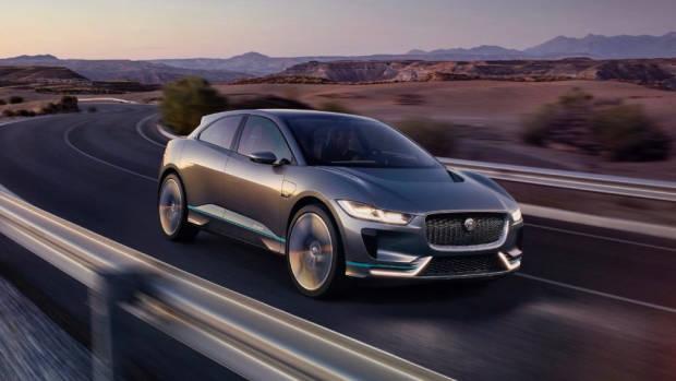 2019 Jaguar I-Pace at night – Chasing Cars