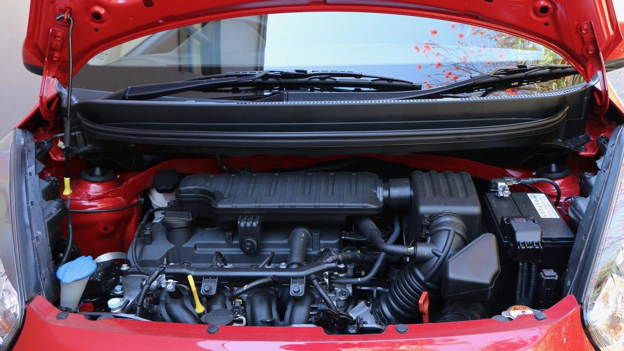 2017 Kia Picanto 1.2 litre engine