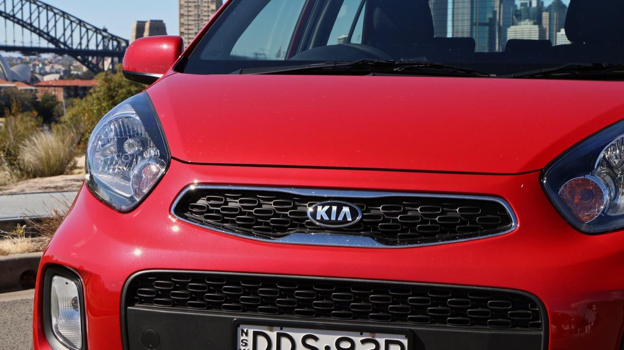 2017 Kia Picanto chrome grille