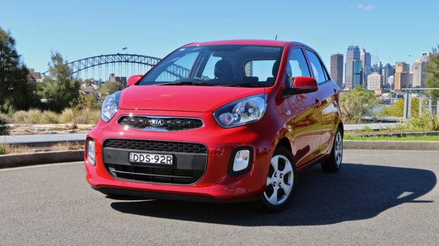 2017 Kia Picanto in Signal Red