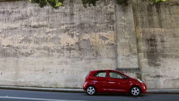 2017 Kia Picanto size and profile