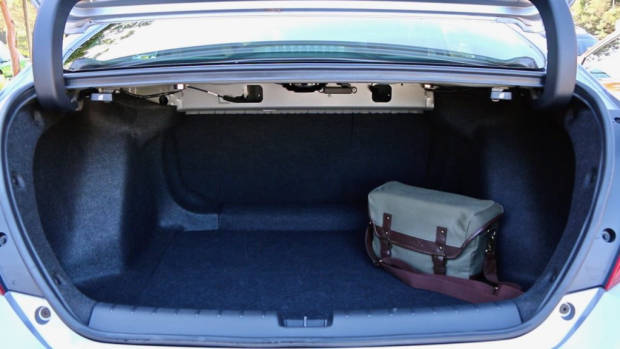 2017 Honda Civic sedan boot space