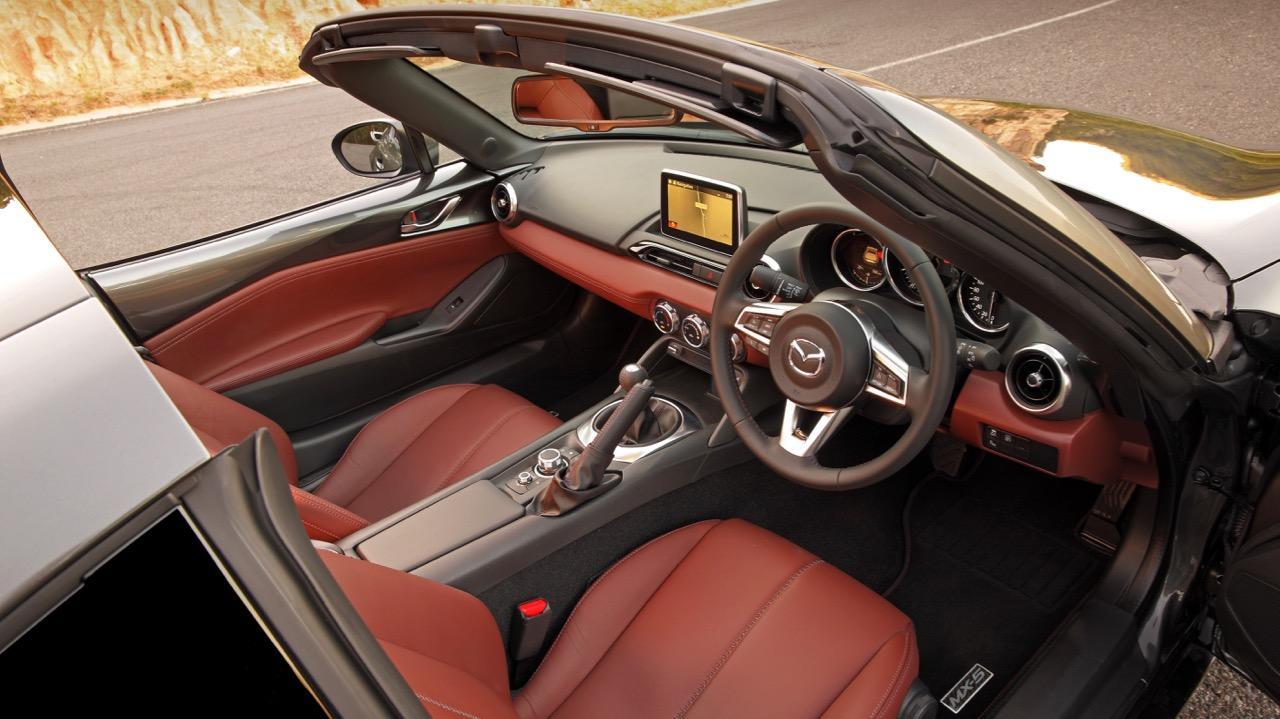 2017 Mazda MX-5 RF Auburn Nappa Leather