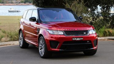 2017 Range Rover Sport Firenze Red Front End