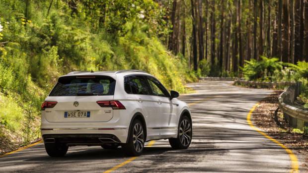 2017 Volkswagen Tiguan 162TSI R-Line rear end