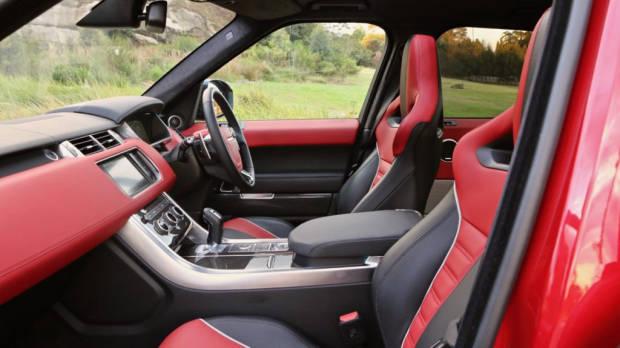 Range Rover Sport SVR Ebony Pimento Interior