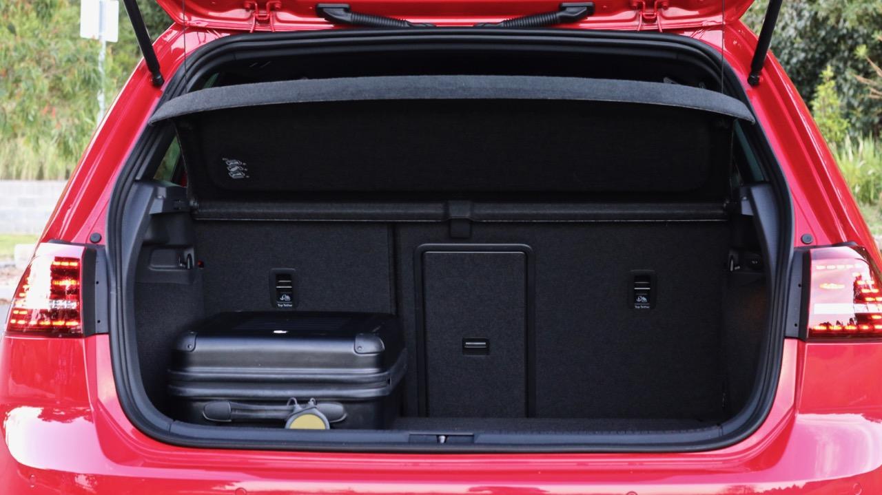 Volkswagen Golf GTI 40 Years Boot Space