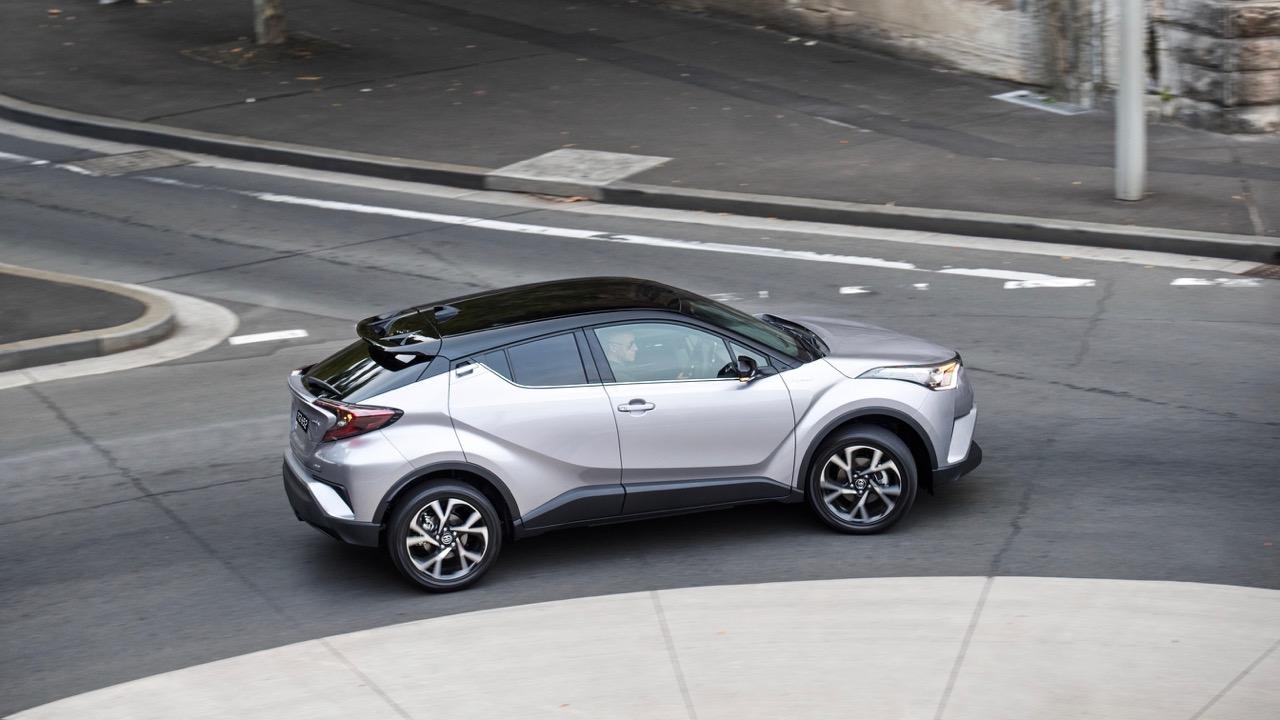 2017 Toyota C-HR Koba silver profile – Chasing Cars