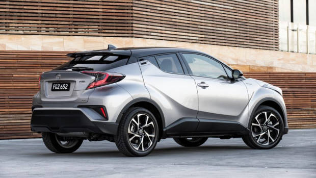 2017 Toyota C-HR Koba silver rear end – Chasing Cars