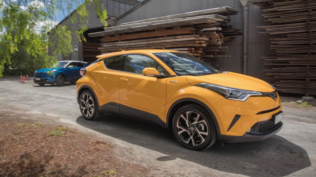 2017 Toyota C-HR Koba yellow – Chasing Cars