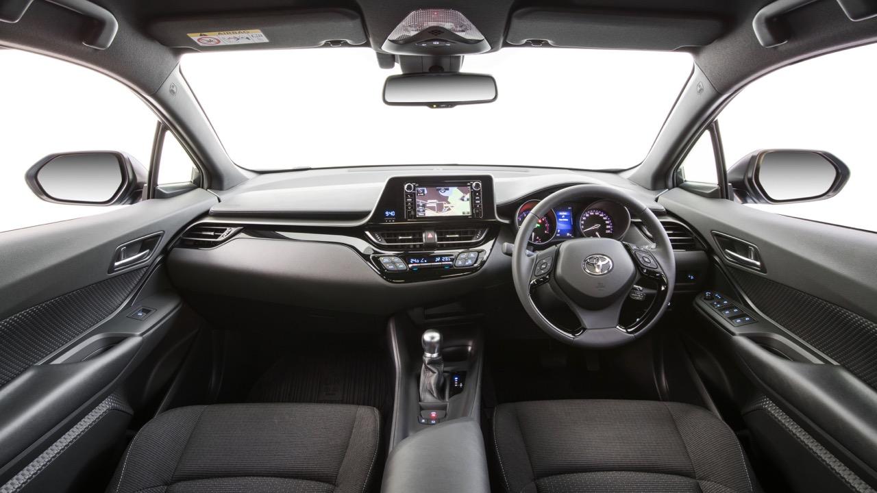 2017 Toyota C-HR interior – Chasing Cars