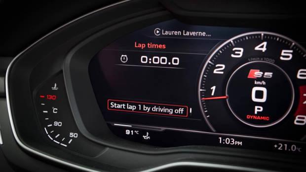 2017 Audi S5 interior Virtual Cockpit