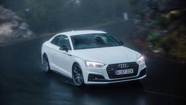 2017 Audi S5 white front