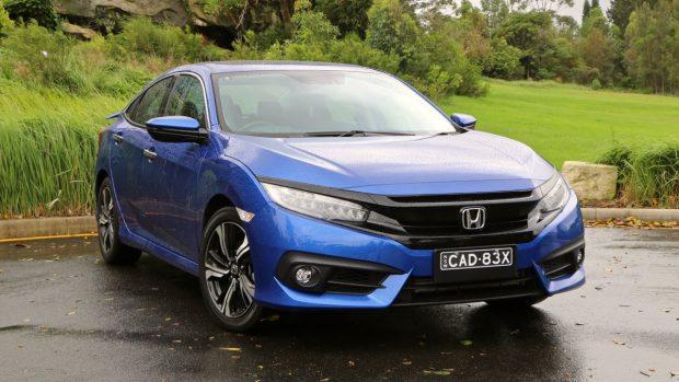 2017 Honda Civic RS Brilliant Sporty Blue Front End
