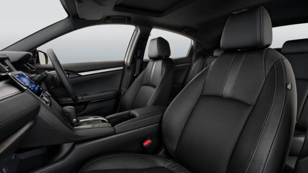 2017 Honda Civic hatchback interior seats