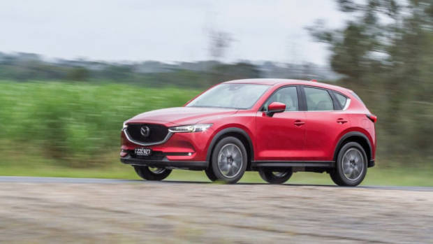 2017 Mazda CX-5 Akera Soul Red Crystal Front End