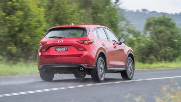 2017 Mazda CX-5 Akera Soul Red Crystal Rear End