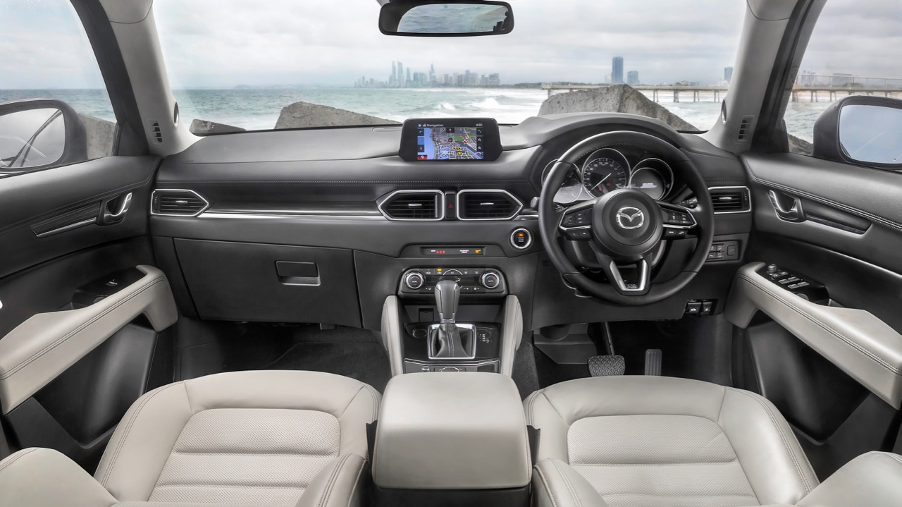 2017 Mazda CX-5 Akera White Leather Interior