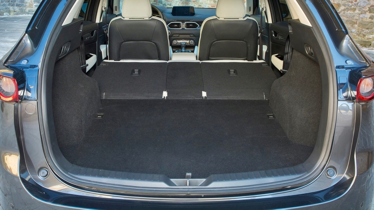 2017 Mazda CX-5 Boot Space Seats Folded