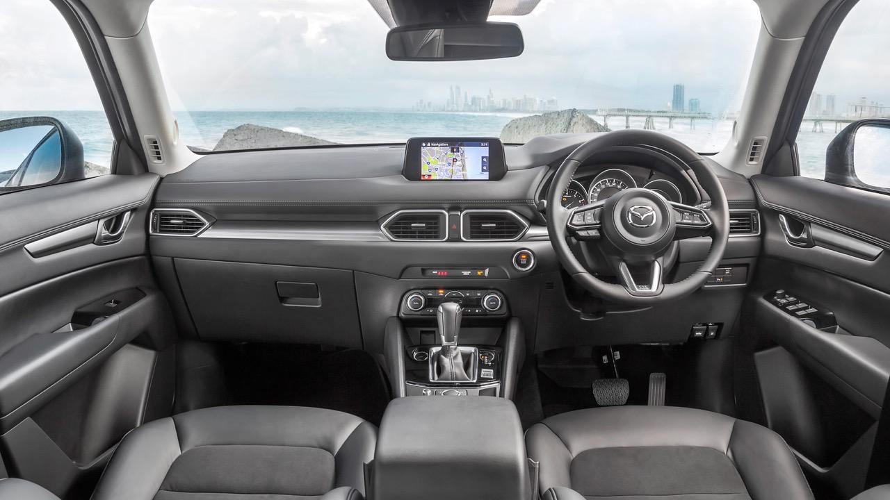 2017 Mazda CX-5 Touring Maztex Suede Interior