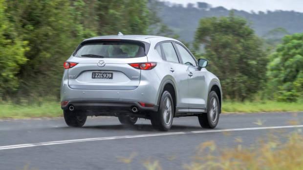 2017 Mazda CX-5 Touring Sonic Silver Rear End