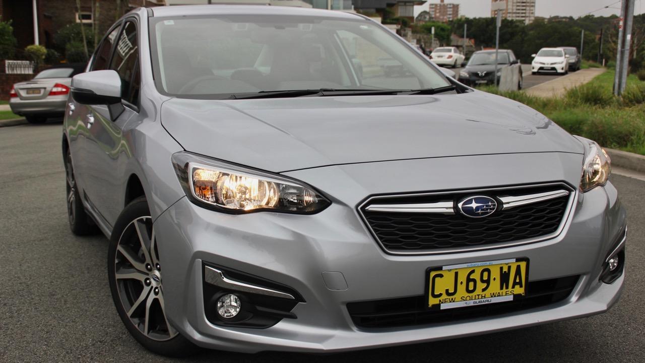 2017 Subaru Impreza 2.0i-L sedan silver front quarter