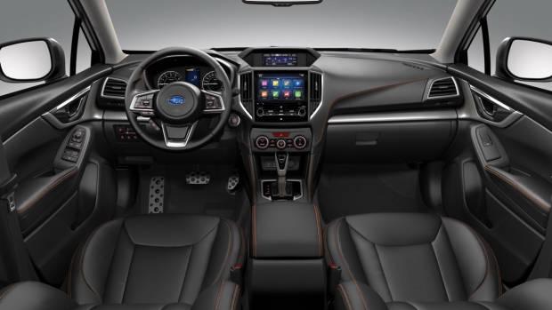 2017 Subaru XV interior