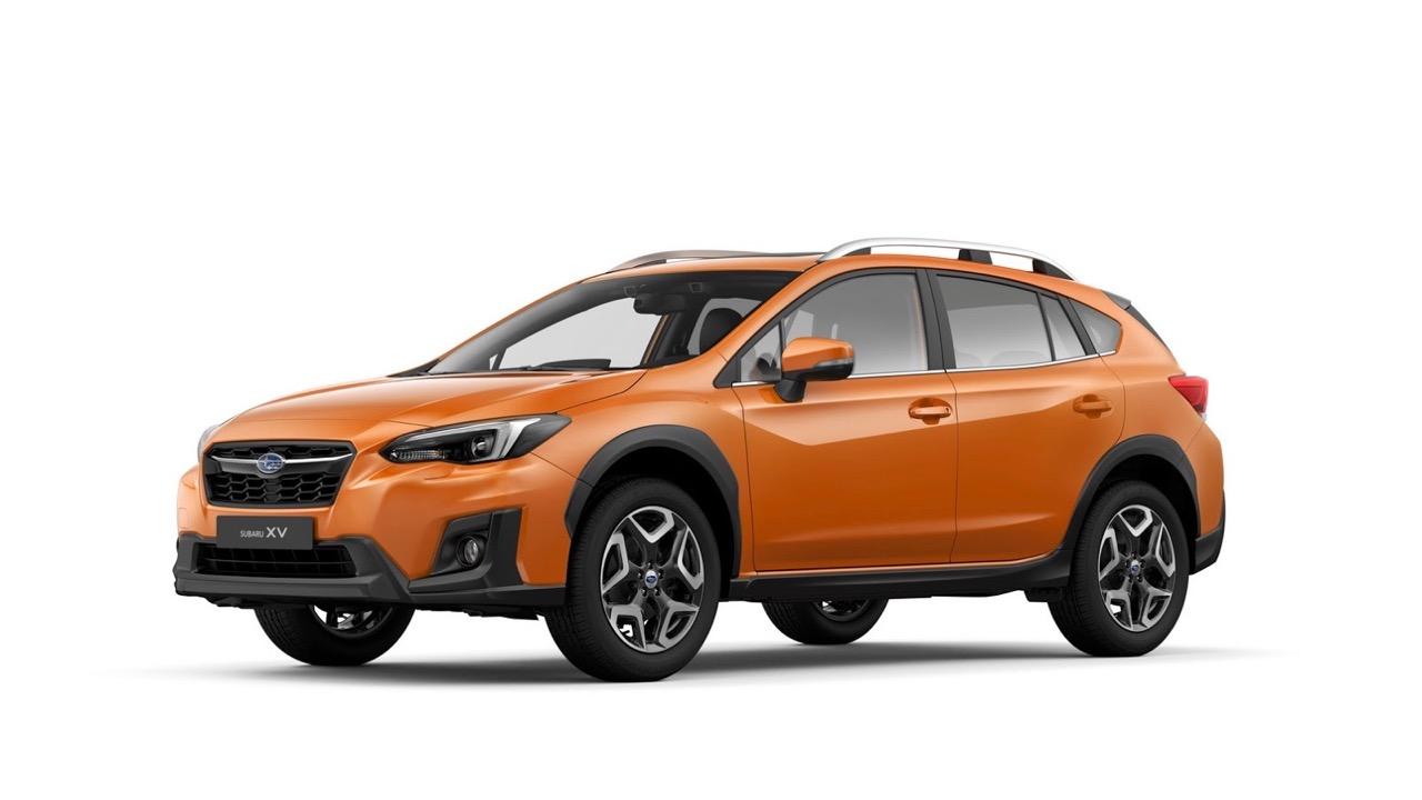 2017 Subaru XV orange front