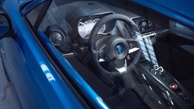 2018 Alpine A110 interior side