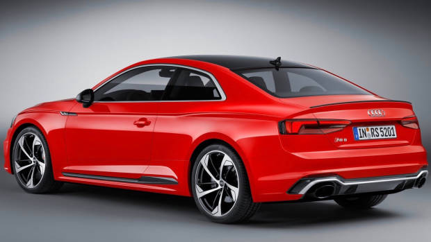2018 Audi RS5 Coupe red rear side