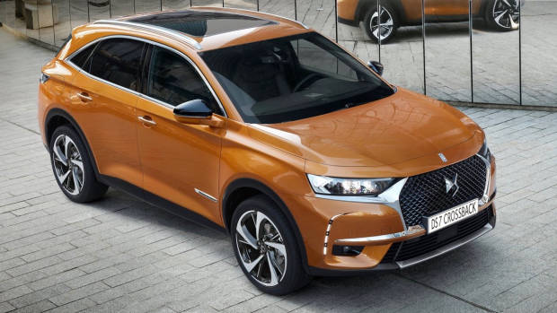 2018 DS7 Crossback brown front