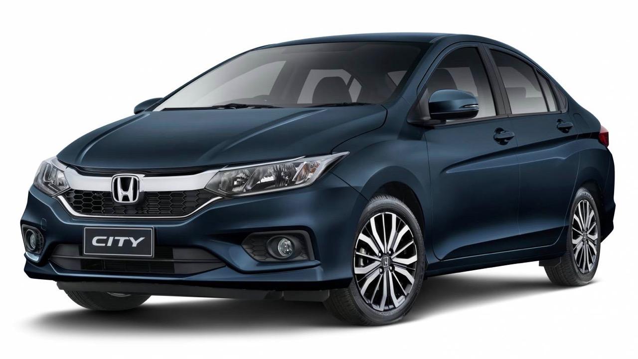 2017 Honda City blue front