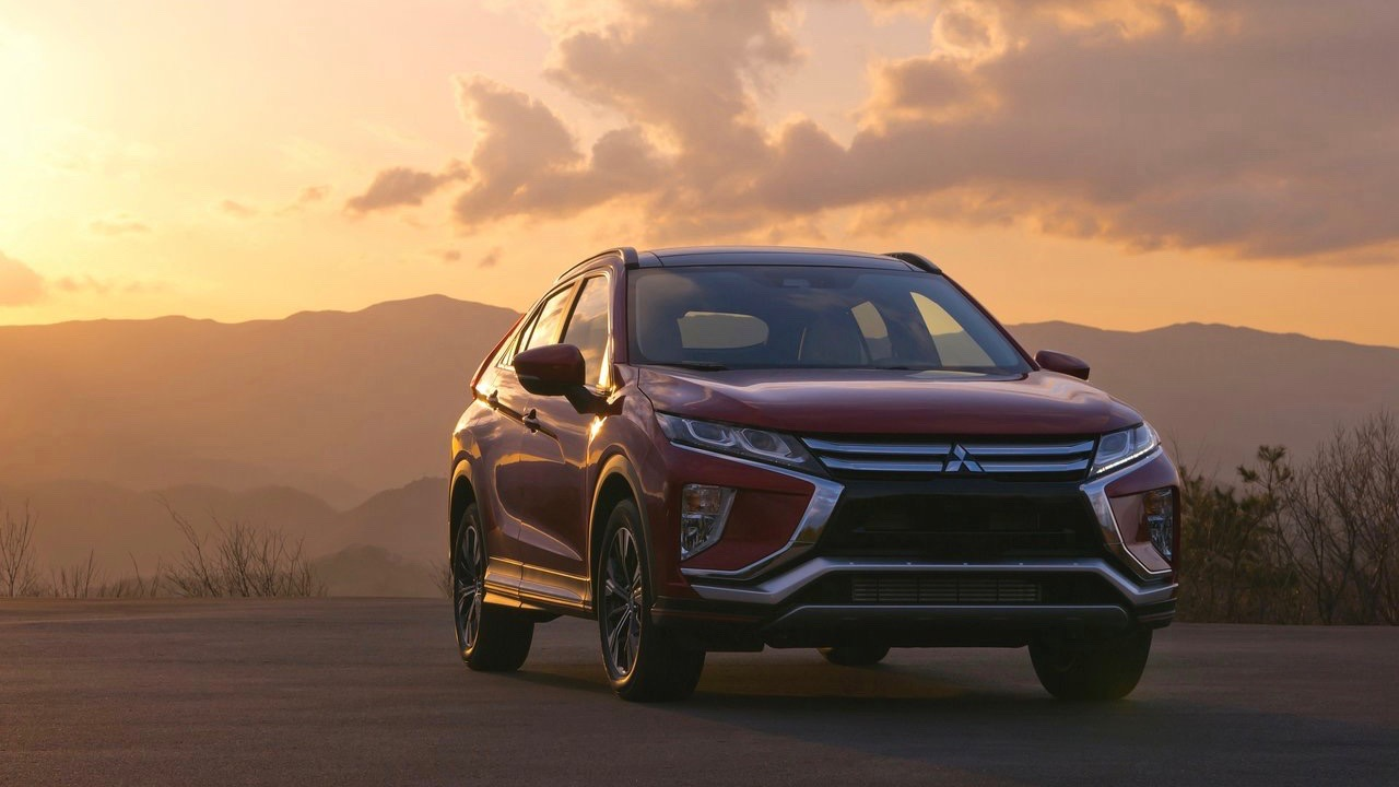 2018 Mitsubishi Eclipse Cross red front