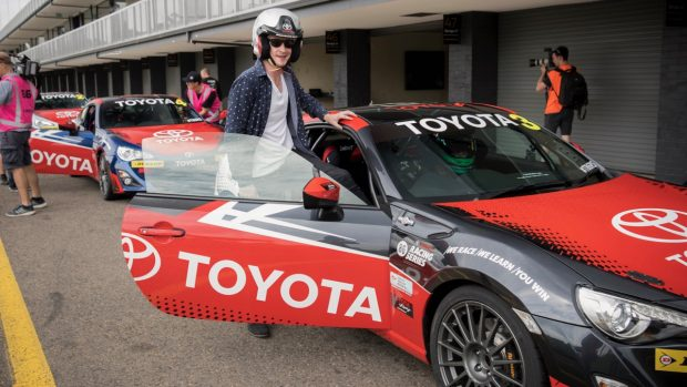 Chasing Cars drives the Toyota 86 race car