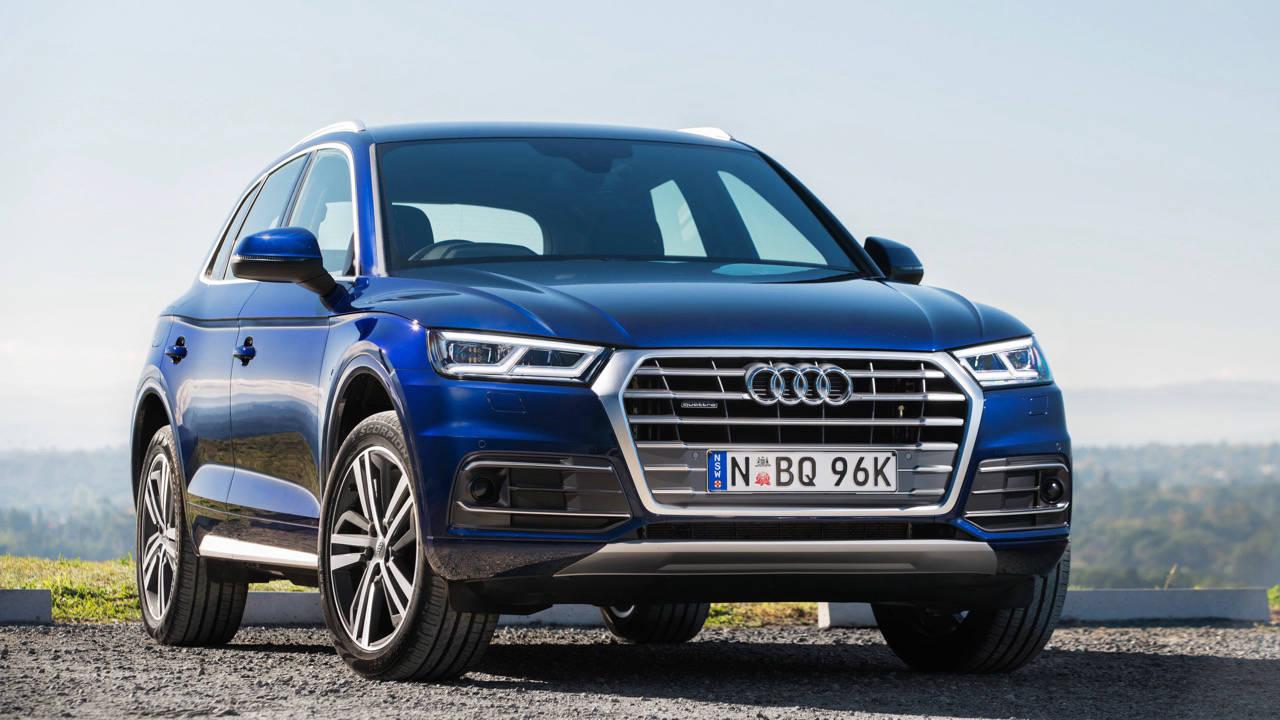 2017 Audi Q5 blue front left