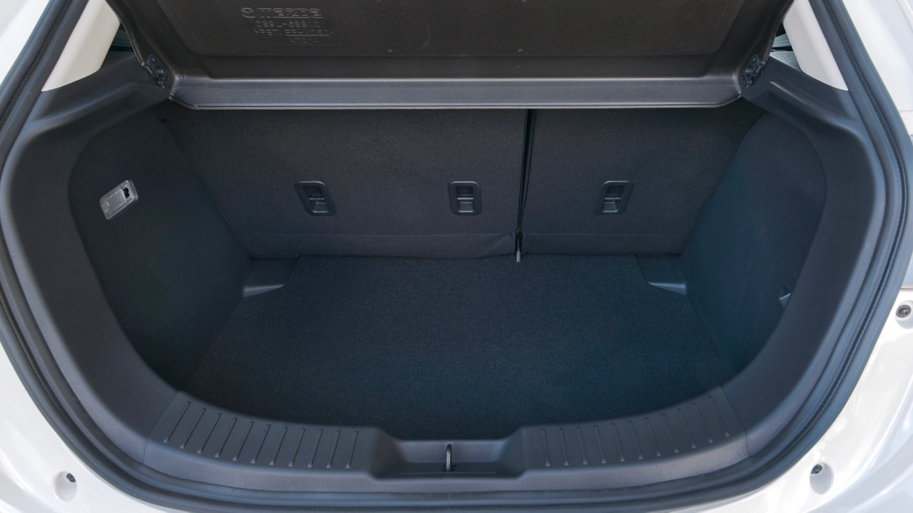 2017 Mazda 2 GT boot space – Chasing Cars